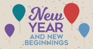 New Beginnings, New Year